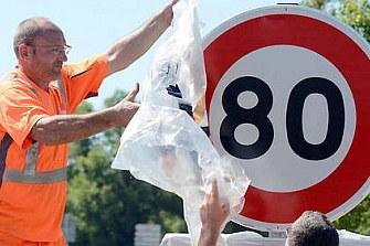 80 km/h: serán oficiales en Francia desde el mes de julio