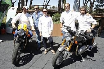 El chef Mario Sandoval promoverá la movilidad sostenible en moto