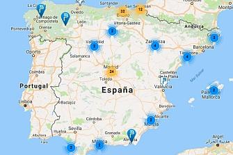 La red de recarga avanza con lentitud en España