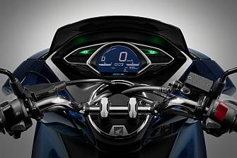 Honda comienza la producción de la PCX Hybrid