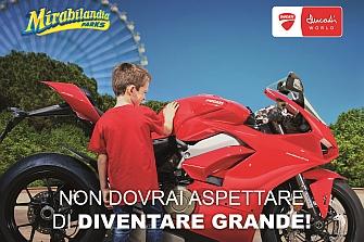 El `Ducati World´ se levanta en Mirabilandia