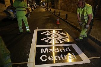 Madrid Central comenzará a funcionar en noviembre