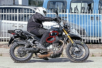 Fotos Espía: Moto Guzzi V85