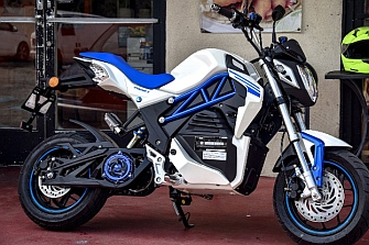 La CSC City Slicker, una moto eléctrica de bolsillo