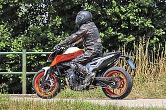 Fotos Espía: KTM 790 Duke R