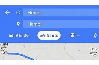 Google Maps introduce las motos en sus modos de viaje por Asia