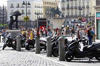 El Ayto. de Madrid aprueba la propuesta de AMM y creará miles de aparcamientos para moto