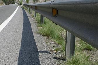Los guardarraíles que más matan en las carreteras canarias