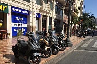 Málaga duplica la venta de motos ante los crecientes problemas de tráfico