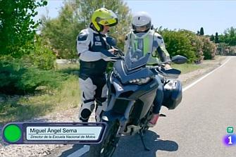 El programa Arranca en Verde de TVE1 muestra el chaleco airbag
