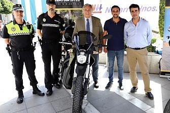 Jerez quiere motos eléctricas para la Policía Local