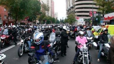¡NO a la política anti moto del Ayuntamiento de Madrid!