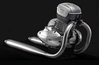 Jawa desarrolla una nueva mecánica de 300 cc
