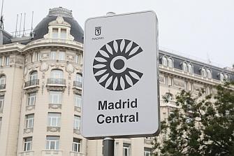 Madrid Central ya cuenta con la señalización vertical