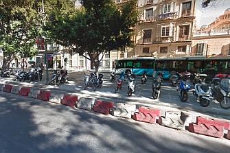 Málaga habilitará 355 plazas de moto en Zona Centro
