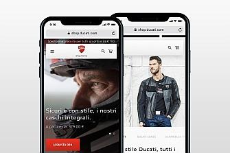 Nueva Ducati E-shop para que no se escape ninguna oferta