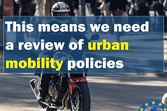 Peatones, ciclistas y transporte público no son la solución