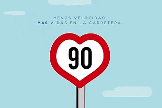 Arranca la campaña de Tráfico para anunciar los 90 km/h