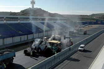 El Circuito de Jerez vuelve a ser reasfaltado