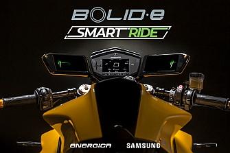 Samsung y Energica se alían en el prototipo Bolid-E