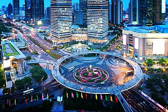 China construye la primera red de carreteras con 5G