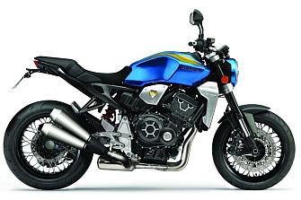 Roma Motordays nos muestra la Honda CB1000R Tribute