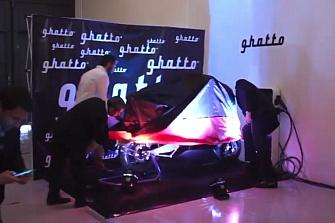 Ghatto G1, la MaxiScooter eléctrica presentada en Valencia
