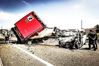 El 40% de los fallecidos en accidentes laborales se producen en las carreteras