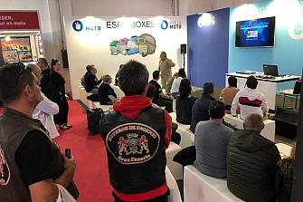 Mutua Motera y AESE presentan en el Salón Vive La Moto de Barcelona el Curso Avanzado de Socorrismo de Emergencias para Motoristas