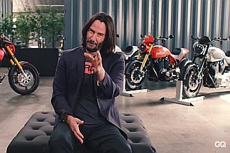 Keanu Reeves muestra las motos que más le llegan al corazón