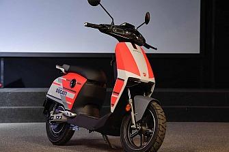 Super Soco CUx versión especial Ducati