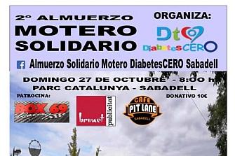 Segundo Almuerzo Motero Solidario Diabetes CERO