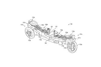 Patentes: motocicleta robótica de Facebook