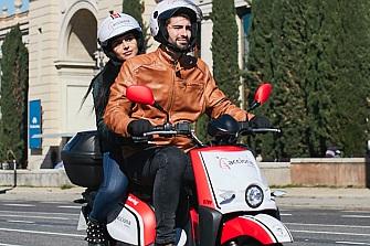 El motosharing de Acciona llega a Barcelona