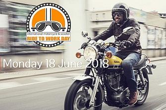 Lunes 17 de junio: Día Internacional `Ride To Work´