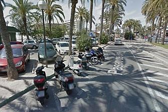Las motos tendrán que pagar por aparcar en Alicante