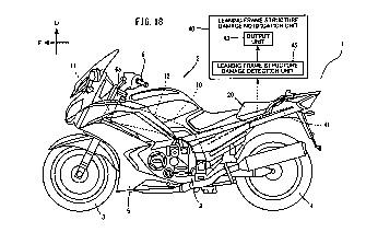 Patentes: Yamaha desarrolla un chasis que informa de daños