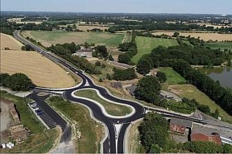 ¿Estamos ante la evolución de las rotondas con más tráfico? ¡quizá!