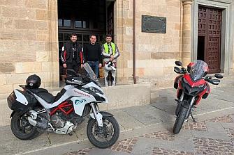 Diputación de Zamora y Asociación Mutua Motera acuerdan trabajar conjuntamente para mejorar la Seguridad Vial de los Motoristas