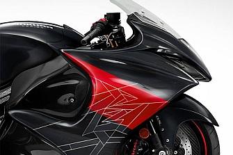 Nueva patente de la Suzuki Hayabusa