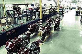 MV Agusta para máquinas ante los requerimientos del Gobierno italiano