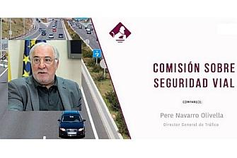 Pere Navarro comparece ante la comisión de Seguridad Vial