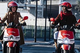 Acciona se convierte en el mayor operador de motos compartidas del mundo