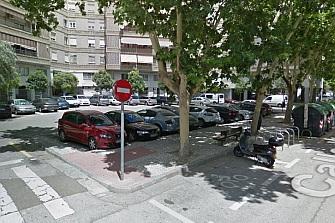 Zaragoza: el barrio de Arrabal se queja por las plazas de motos