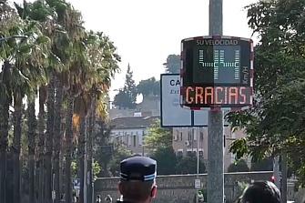 Badajoz incorpora cinco radares informativos y uno móvil