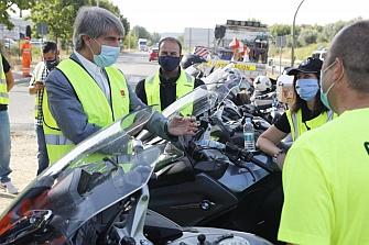 La Comunidad de Madrid estudia 45 tramos peligrosos para los motoristas