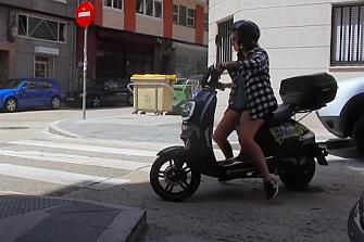 Motiños, el nuevo motosharing en A Coruña