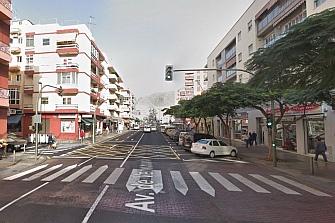 Detienen a una mujer por golpear motos en Tenerife