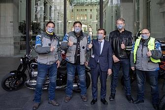 BMW Motorrad y KM Solidarity en Busca de la Sonrisa Perdida