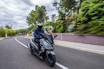 El Honda Forza 125 2021 incorpora el HSTC